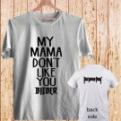 Justin Bieber Purpose DESIGN 2 white t-shirt tshirt shirts tee SIZE 2XL