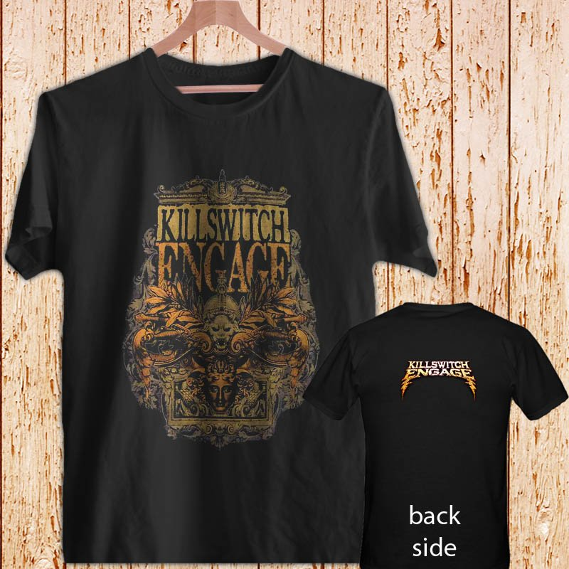KILLSWITCH ENGAGE Army black t-shirt tshirt shirts tee SIZE L