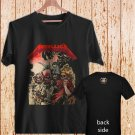 "METALLICA ""FOUR HORSEMEN"" black t-shirt tshirt shirts tee SIZE 2XL"