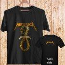 METALLICA DON'T TREAD ON ME BLEACH black t-shirt tshirt shirts tee SIZE L