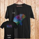 2 Side Muse The Resintance Rock Band Logo DESIGN 2 black t-shirt tshirt shirts tee SIZE M