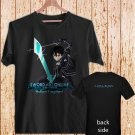Sword Art Online Poster black t-shirt tshirt shirts tee SIZE XL