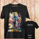 Undertale Game Sans And Papyrus Brother black t-shirt tshirt shirts tee SIZE L