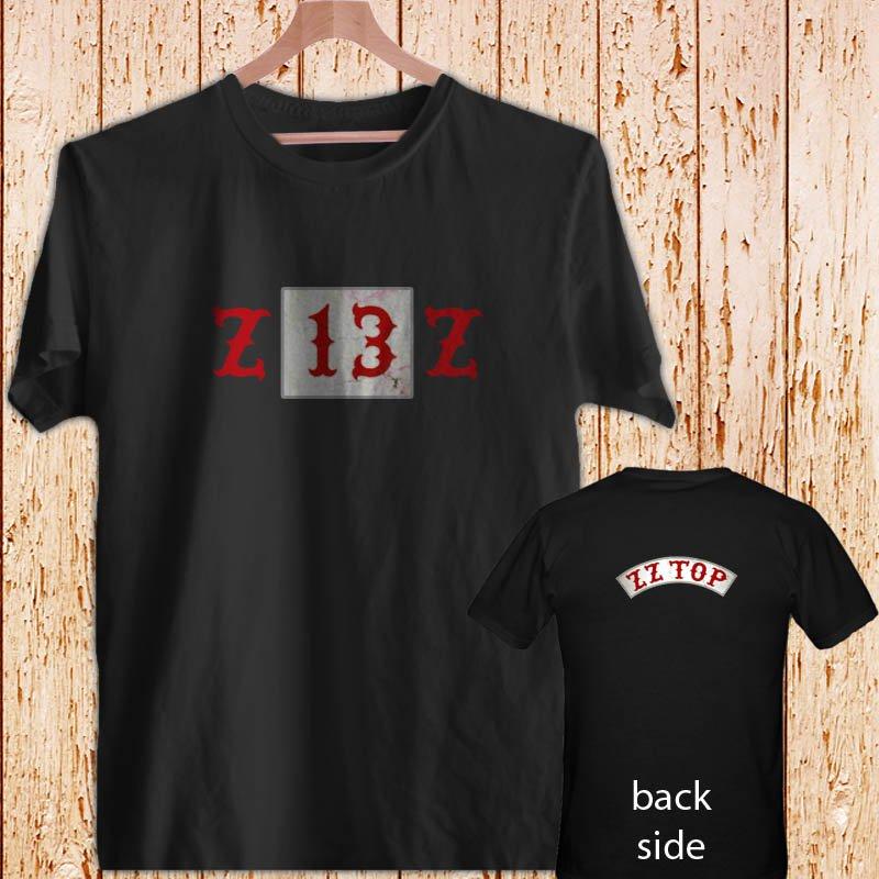 "ZZ TOP ""13"" TEXICALI black t-shirt tshirt shirts tee SIZE S"