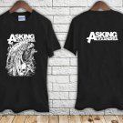 Asking Alexandria Eagle Metal Music Rock Band black t-shirt tshirt shirts tee SIZE S