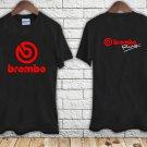 BREMBO RACING Brake System Logo black t-shirt tshirt shirts tee SIZE L