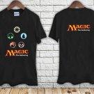 Magic The Gathering Logo black t-shirt tshirt shirts tee SIZE 2XL