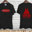 PETERBILT TRUCKER Classic Racing Logo black t-shirt tshirt shirts tee SIZE S