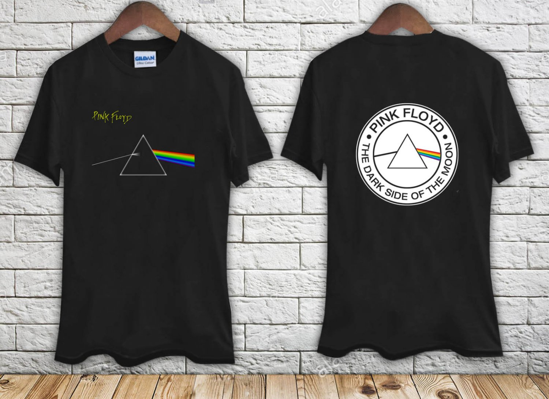 PINK FLOYD Dark Side of the Moon black t-shirt tshirt shirts tee SIZE 2XL