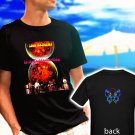 IRON BUTTERFLY In a gadda da vida black t-shirt tshirt shirts tee SIZE 2XL
