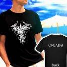 Brazilian JUNIOR DOS SANTOS CIGANO MMA Fighter black t-shirt tshirt shirts tee SIZE 2XL