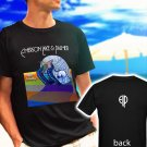 Emerson Lake and Palmer Tarkus Rock Band black t-shirt tshirt shirts tee SIZE L