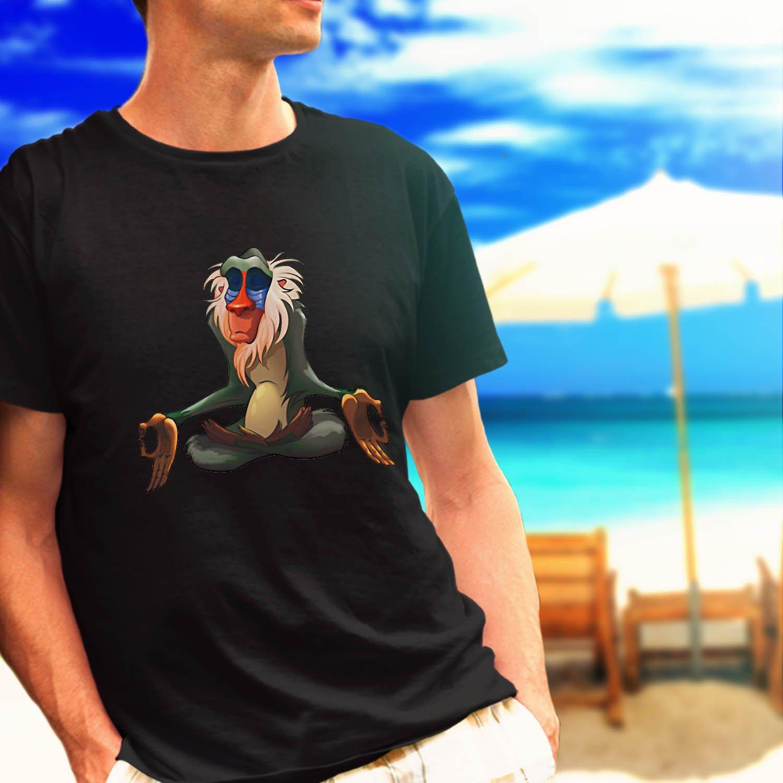 rafiki meditate black t-shirt tshirt shirts tee SIZE S