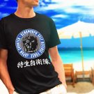 UNGCC JXSDF Japan Godzilla Mechagodzilla counter black t-shirt tshirt shirts tee SIZE L