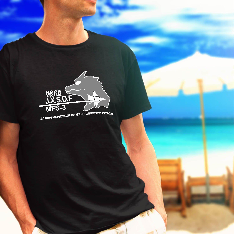 UNGCC JXSDF Japan Godzilla Mechagodzilla MSF-3 black t-shirt tshirt shirts tee SIZE 3XL