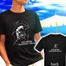 Kojima Productions Studio logo Metal Gear Hideo black t-shirt tshirt shirts tee SIZE 2XL