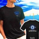 MASSACHUSETTS STATE POLICE dept est 1865 black t-shirt tshirt shirts tee SIZE L
