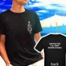 US ARMY SNIPER SCHOOL MARINE black t-shirt tshirt shirts tee SIZE L