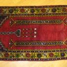 Fine Tribal Turkish Vintage Handwoven Carpet Kilim Rug Floor & wall_ 128 X 75cm