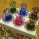 GOLD plated turkish tea set glasses ottoman cups glass mug hot tea glasses b 02