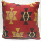 Antique Patchwork Couch Pillow kilim coushin housse de coussin kelim kissen h 32