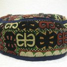 Antique turkoman super fine embroidery hat turkish beret collecion hat natural 6