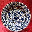 H.made lead free Ottoman iznik plate wall hanging collectible turkish ceramic 5