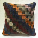 Handmade kilim nomadic Turkish handmade cecim kilim pillow cushion 15.2'' (119 )