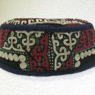 Antique asian fine embroidery hat turkish beret collecion hat vegetable dyes 11