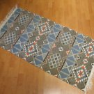 Kilim rug flat weaving wall hanging entry carpet tapis Turc teppiche kelim 35