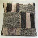 Antique Decorative Patchwork Pillow Turkish Kilim cushion kissen 20'' (no 17)