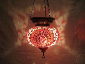 moroccan lantern hanging lamp glass chandelier light lampen handmade candle m 57