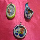 glass necklace pendant jewellery glass pendant handmade art work ko 13