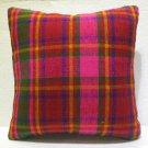 Antique nomadic kelim kissen sofa throw pillow cover tribal rug cushion 56