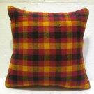 Antique nomadic kelim kissen sofa throw pillow cover tribal rug cushion 58