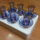 Tea set tea cup cay turkish tea set Turkish Tea Glasses Set  14