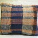 Antique patchwork kelim kissen sofa throw pillow cover tribal rug cushion 45