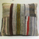 Antique patchwork kelim kissen sofa throw pillow cover tribal rug cushion 22