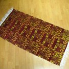 Kilim rug flat weaving wall hanging entry carpet tapis Turc teppiche kelim 37