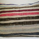 Antique Patchwork Couch Throw Pillow Turkish Kilim Rustic Cushion 30.8'' (k 120)