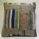 Antique patchwork kelim kissen sofa throw pillow cover tribal rug cushion 36