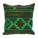 Antique Decorative Couch Throw Pillow Turkish Kilim Rustic Cushion 24'' (y028)