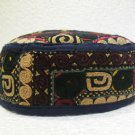 Antique turkoman super fine embroidery hat turkish beret collecion hat natural 2