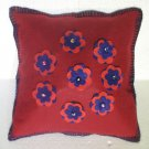 Handmade Turkish pillow nomadic gypsy hippie style cushion cover tribal L 13