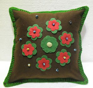 Handmade Turkish pillow nomadic gypsy hippie style cushion cover tribal ys 19