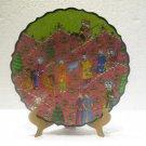 Ottoman empire ceramic plate wall hanging tile handmade Turkish decorative tab 1