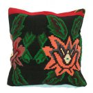 Antique Nomad Decorative Couch Throw Pillow Turkish Kilim Rustic Cushion 24''