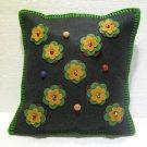 Handmade Turkish pillow nomadic gypsy hippie style cushion cover tribal ys 3