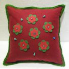 Handmade Turkish pillow nomadic gypsy hippie style cushion cover tribal ys 13