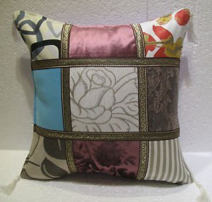 patchwork pillow cushion cover home decor modern decoration sofa throw mod 52